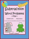 May Subtraction Word Problems