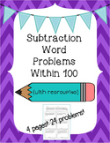 Subtraction Word Problems (Regrouping)