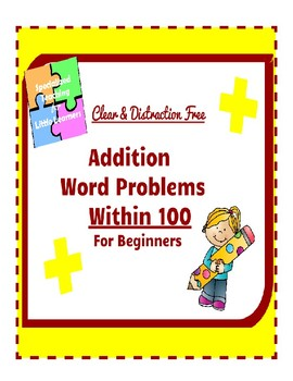 Subtraction Word Problems for Beginners: Double Digit Pack