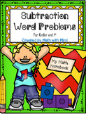 Subtraction Word Problems with Numbers up to 10