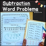 Subtraction Word Problems within 10 ( Subtraction Story Problems )