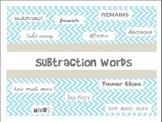 Subtraction Words