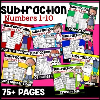 Kindergarten Subtraction Worksheet Practice