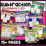 Subtraction Worksheets Kindergarten Practice