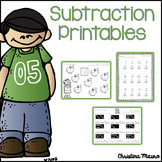 Subtraction Printables