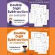 Multi-Digit Subtraction Practice Sheets, Includes Subtracting Across Zeroes