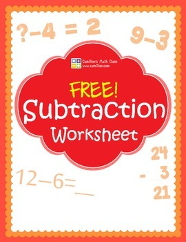 Free Subtraction Worksheets with Answer Keys