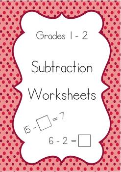 Subtraction Worksheets!
