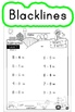 Subtraction Worksheets! Level 1 of 5. Color & Blacklines with Answer Key