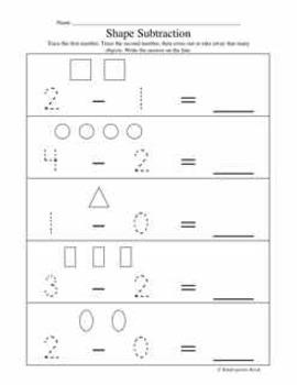 subtraction worksheets for kindergarten by kindergarten kiosk  tpt subtraction worksheets for kindergarten