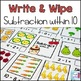 Subtraction Write and Wipe Bundle