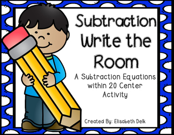 Subtraction Write the Room