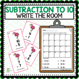 Subtraction Write the Room Differences 0 to 10