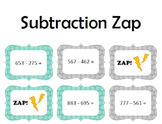 Subtraction Zap