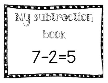 Subtraction adapted book