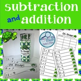 Subtraction and Addition Fact Practice Game