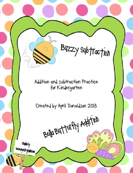 Subtraction and Addition Pack