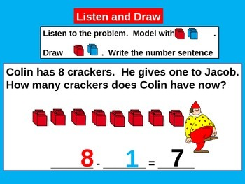 Subtraction and Addition Related Facts for Visual Learners