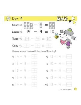 SUBTRACTION and COUNTING series