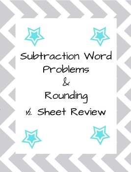 Subtraction and Rounding Practice