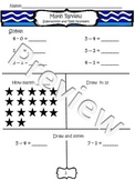 Subtraction and Teen Number Review