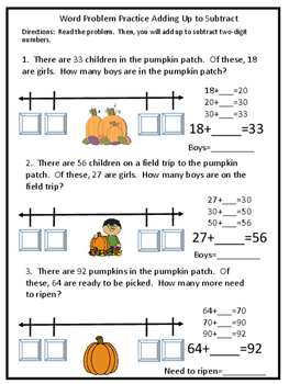 Subtraction by adding up