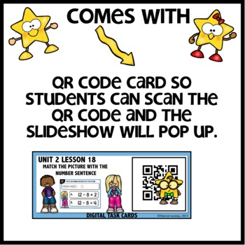 Subtraction drawings DIGITAL/PRINTABLE TASK CARDS