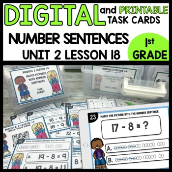 Subtraction drawings DIGITAL TASK CARDS | PRINTABLE TASK CARDS