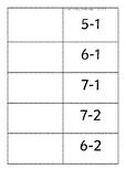 Subtraction flip book 1-10
