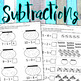 Subtraction for PreK - Kindergarteners (Eng. & Span.)