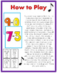 Subtraction JUST MOVE! (A Get Up and Move Around the Classroom Game)