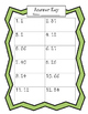 Subtraction from 100 task cards