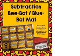 Subtraction from 20 addition to 20 bee bot mat