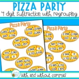 Four Digit Subtraction with Regrouping
