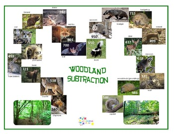 Subtraction in the Forest & Woodland Subtraction