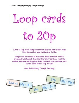 Subtraction loop cards to 20p