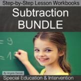 Subtraction BUNDLE | Special Education Math | Intervention