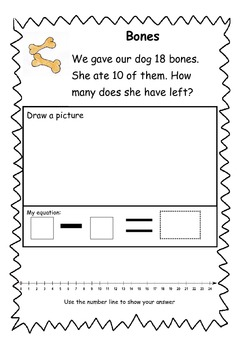 Subtraction - numbers to 20
