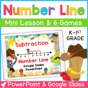 Number Line Subtraction PowerPoint