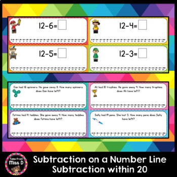 Subtraction on a Number Line