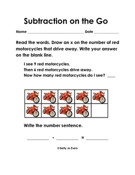 Subtraction on the Go