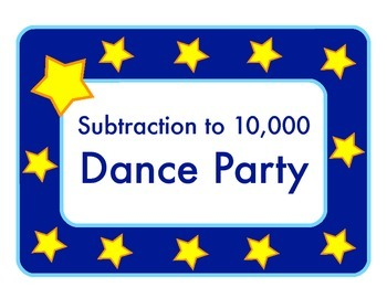 Subtraction to 10,000 Dance Party