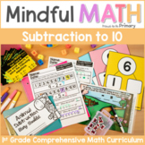 Subtraction to 10 - First Grade Mindful Math