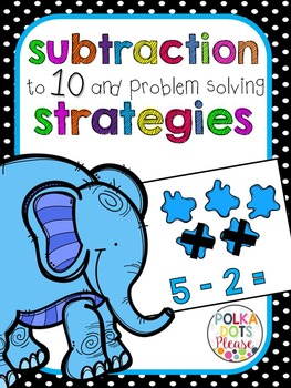 Subtraction to 10 and Problem Solving Unit (Projectable Lessons)