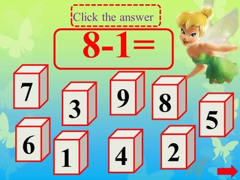 Subtraction to 10 Interactive Math end of the year activities distance learning