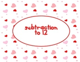 Subtraction to 12