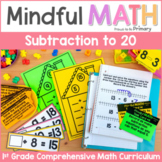 Subtraction to 20 - First Grade Mindful Math