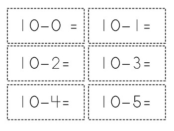 Subtraction under 10 Games