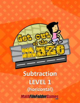 Subtraction - up to the number 19