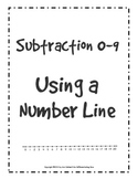 Subtraction using Time Line 0-9